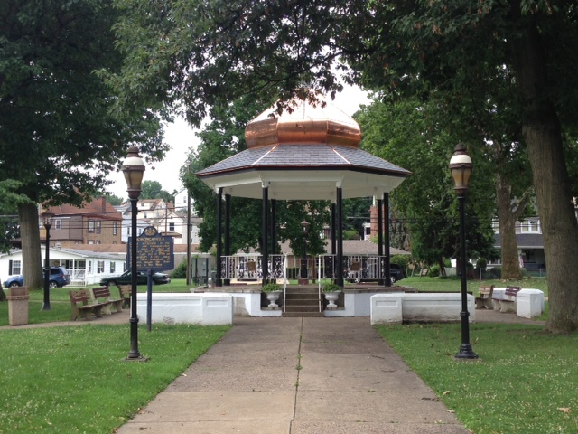 Gazebo in Chess Park
